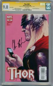 Thor #601 Ipod Variant CGC 9.8 Signature Series Signed Stan Lee Chris Hemsworth Thor Movie Marvel